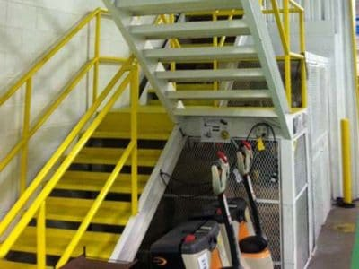 Color Coding Stairs & Hand Rails