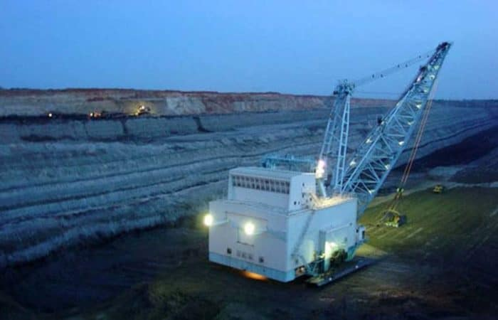 Painting Draglines