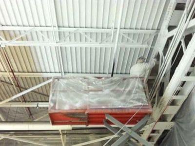 Scissor Lift Ceiling Painting